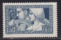 Caisse D'amortissement N°252** - Unused Stamps