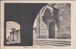 FIESOLE  S. Francesco  Portale Della Chiesa   Pace E Bene - Italie