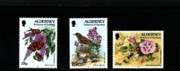 ALDERNEY - 1997  FLORA AND FAUNA SET  MINT NH - Alderney