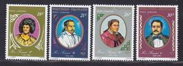 POLYNESIE AERIENS N°  106 à 109 ** MNH Neufs Sans Charnière, TB (D8116) Dynastie Des Rois Pomaré - 1976 - Airmail