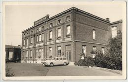 Marchienne-Au-Pont - Carte-photo Ancien Hôpital Du Sacré-Coeur (ancêtres, Oldtimers En Façade) - Charleroi
