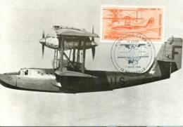CM-Carte Maximum Card # France-1985 #Transports # Aviation#Avion,Flugzeug,Hydravion,Flugboot,aeroboat CAMS 53 #Marseille - Maximumkaarten