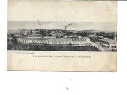 38-BOURGOIN-JALLIEU-Une Vue Generale Des Usines * DIEDERICHS* - Bourgoin