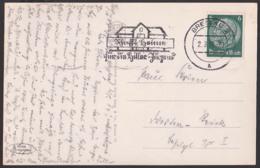 """1927 Breslau Wroclaw Pergola Mit Jahrhunderthalle  MWSt. """"Schafft Heime Für Die Hitlerjugend"""" 2.3.37, Abb. Haus - Schlesien"""