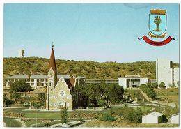 (032..900) Nambia, Windhoek S.W.A., Tintenpalast & Christuskirche - Namibie