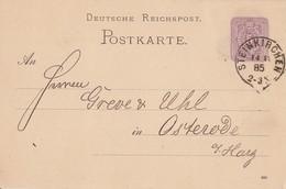 DR Ganzsache K1 Steinkirchen 14.12.85 - Deutschland