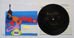 DISQUE SOUPLE 45 T DISCO PUBLICITE PUB LESSIVE PAIC L HEURE DE LA SORTIE ( SHEILA ? ) - Other Products
