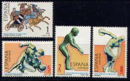 ESPAGNE - 2383/2386** - JEUX OLYMPIQUES DE LOS ANGELES - 1931-Aujourd'hui: II. République - ....Juan Carlos I