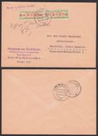 DDR ZKD B30IM Im Paar BERLIN N4, 14.8.60 Magristrat Innere Angelegenheiten, Paar Mittig Zähnung Geschürft - DDR