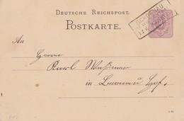 DR Ganzsache R3 Schoenau Im Wiesenthal 12.6.83 - Brieven En Documenten