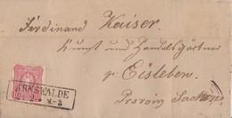 DR Brief EF Minr.33 R2 Arnswalde 21.2. - Brieven En Documenten