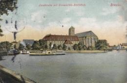 AK - BRESLAU - Raddampfer Vor Der Landkirche 1906 - Polen