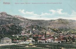 AK -  (Montenegro) CETINJE - Blick Auf Die Gesamte Stadt 1918 - Montenegro