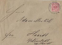 DR Brief EF Minr.47 KOS Burtscheid (Bz. Aachen) 18.8.90 - Deutschland