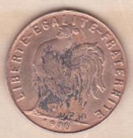 Jeton Maison Close. Imitation De La 20 Francs Or 1910 - Burdeles
