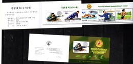 NATIONAL DEFENCE SPORTS, 2017, MNH, SHOOTING, OBSTACLE RACE, SWIMMING, GRENADE THROWING(!), BOOKLET - Shooting (Weapons)