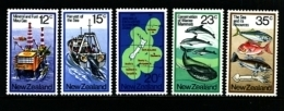 NEW ZEALAND - 1978  SEA RESOURCES  SET MINT NH - Nuovi