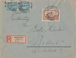 DR R-Brief Mif Minr.114b,2x 160 Brandenburg 18.11.21 Geprüft - Deutschland