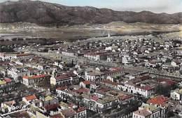 Afrique > Algérie BATNA Vue Panoramique Aérienne De La Ville Au Centre L'Eglise (Jansol 4 A )* PRIX FIXE - Batna