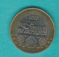 Malaysia - 1 Ringgit - 2005 - Songket Regal Heritage - KM138 - Malaysie