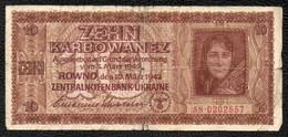 10 UKRAINE Sous Occupation Allemande 1942 - 1939-45