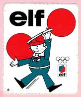Sticker - Olympisch Kampioen ELFY - N° 6 - Elf - Stickers