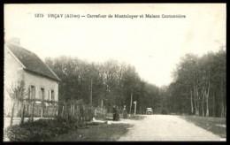 URCAY (Allier) - 1279 : Carrefour De Montaloyer Et Maison Cantonnière - (plan Animé) - France