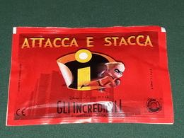 Gli Incredibili Attacca E Stacca Bustina Ferrero. Fo.BO  RARA - Stickers