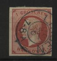 Hannover Nr.14 : Gebraucht Lingen,3 Euro Michel. - Hanovre