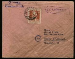 S6710 - All. Besetzung Stephan ,Landpoststempel Auf Briefumschlag: Gebraucht Ackenhausen über Seesen - Dassel, Bedarfs - Gemeinschaftsausgaben