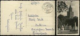 P0264 - DR Feldpost Postkarte , Pasewalk: Gebraucht Feldpost Dänischhagen über Kiel - Anklam 1941, Bedarfserhaltung. - Deutschland