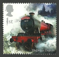 GB 2018 HARRY POTTER SINGLE TRAIN RAILWAY STAMP MNH - 1952-.... (Elizabeth II)
