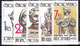 ** Tchécoslovaquie 1982 Mi 2687-91 (Yv 2507-11), (MNH) - Tchécoslovaquie