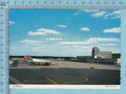 Montreal Quebec - Airport, Aeroport International De Mirabel, Abandons Des Vols International  1997,postcard - Aérodromes
