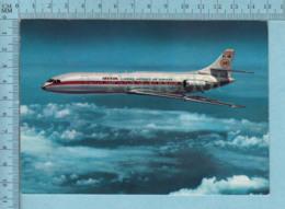 Avion, Aviation - Iberia, Caravelle X-R Espana, Postcard Carte Postale - 1946-....: Ere Moderne