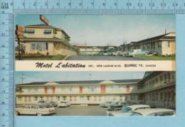 Quebec - Vieille Auto Devant Le Motel L'abitation Blvs Laurier,  Postcard Carte Postale - Québec - La Cité