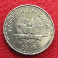 Papua New Guinea 20 Toea 1978 KM# 5  Papuasia Nova Guine Nuova Guinea Papouasie Nouvelle Guinee - Papouasie-Nouvelle-Guinée