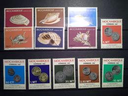 Lot Stamps Moçambique 1980, 1981 ** - Briefmarken