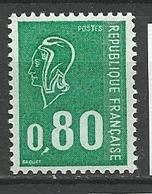 TYPE BEQUET N° 1815 Variétée Ligne Du Frond Brisé NEUF** LUXE SANS CHARNIERE / MNH - Errors & Oddities
