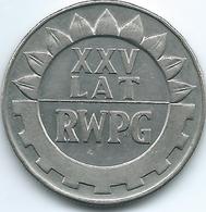 Poland - 20 Zlotych - 1974 - 25th Anniversary Of COMECON (KMY70) - Poland