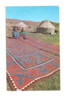 02635 Wool Carpet Maker Yourt - Kirghizistan