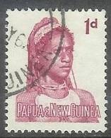 1961 1d  Female, Goroka, Used - Papoea-Nieuw-Guinea