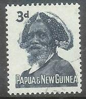 1961 2d  Tribal Elder, Tari, Used - Papua New Guinea