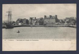 Paimpol Les Quais Et Le Bassin Du Commerce - Paimpol