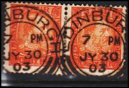EDINBURGH JY 30 03 - 3 AUR (2 EX.) Christian IX. () - JF305734 - 1873-1918 Danish Dependence