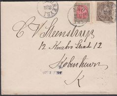 1903. Christian IX. 4 AUR (defekt) + 6 AUR AKUREYRI 20 10. Frb. Steinsson Bokaverziun... () - JF305770 - 1873-1918 Dipendenza Danese