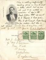 Uruguay, President Don José Batlle Y Ordóñez (1904) Postcard - Uruguay
