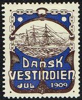 1909. The Cruiser: INGOLF. (Michel 1909) - JF168333 - Denmark (West Indies)