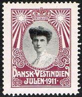 1911. Crown Princess Alexandrine. (Michel 1911) - JF168335 - Denmark (West Indies)