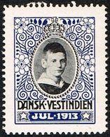 1913. Crown Prince Frederik. (Michel 1913) - JF168337 - Denmark (West Indies)